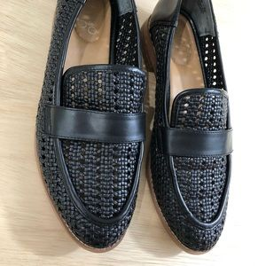 Shoes - Black Loafers Flats Shoes Franco Sarto Slip On 7